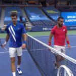 【マッチハイライト】ノバク・ジョコビッチ vs ダミアー・ジュムホール/全米オープンテニス2020 1回戦【WOWOW】