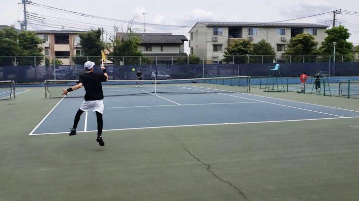 5年ぶりのテニス、弟にボロ負け試合