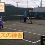 【5-years-old /5歳】【Tennis/テニス】試合形式の練習 – 2020/10/18
