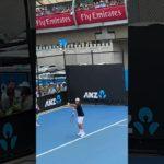 AO2019 Roger Federer Serve practice ロジャーフェデラー サーブ