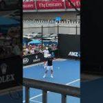 AO2019 Roger Federer practice ロジャーフェデラー