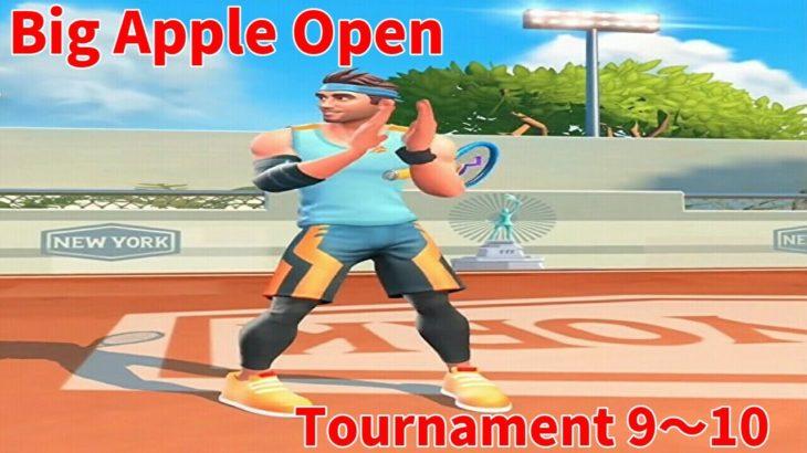 テニスクラッシュBig Apple Open Tournament 9~10【Tennis Clash】