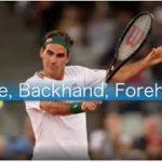 Federer God Serve, Backhand, Forehand movie(フェデラーのフォアハンド、サーブ、バックハンド動画)