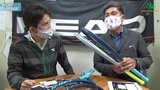 新製品紹介 テニスラケット HEAD NEW INSTINCT