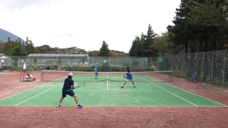 【MSK】ストロークで押し切る・ダブルス【テニス・TENNIS】
