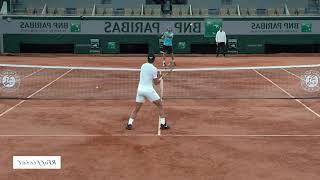 ナダル  練習 全仏OP 2020  【右利き用】【左右反転】Rafael Nadal Practice 2020