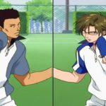 テニスの王子様 OVA 全国大会編 #10 –  大下vs桃四郎 – Oshitari vs Momoshiro – Prince of Tennis: National Championship