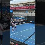 Roger Federer AO2019 practice ロジャーフェデラー