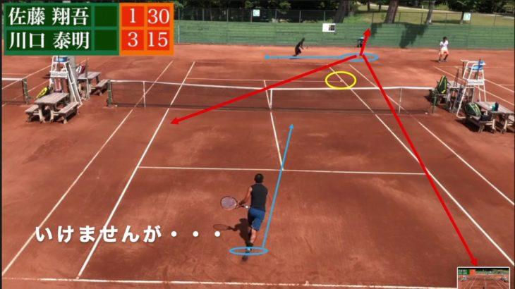 【SHO5】非力テニス翔吾解説動画|ポイントの中での状況を判断しなきゃでしょ