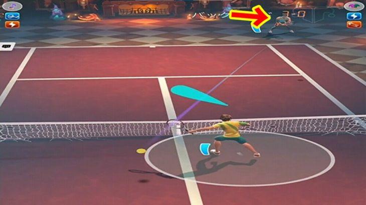テニスクラッシュこれは流石に驚いた【Tennis Clash】