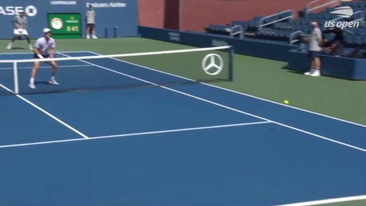 Tennis Doubles Volley テニスダブルスの試合でのボレー特集