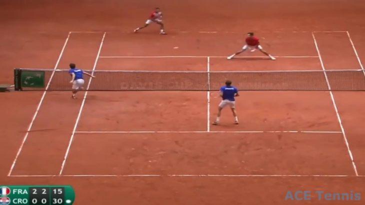 Tennis Doubles Volley Ⅱ テニスダブルス試合でのボレー特集2