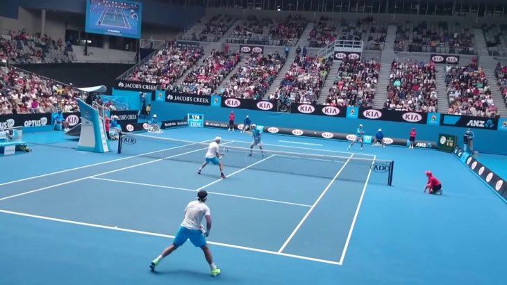 tennis doubles volley 10テニスダブルス試合のボレー特集10