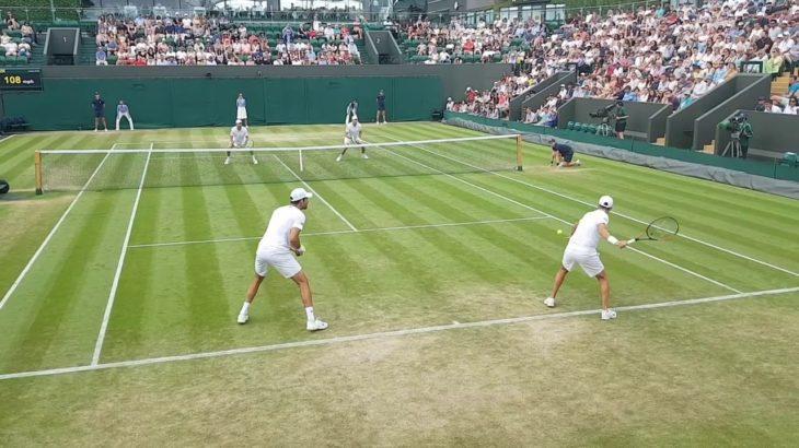 tennis doubles volley 5 テニスダブルス試合でのボレー特集5