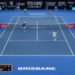 tennis doubles volley 6 テニスダブルスの試合でのボレー特集6