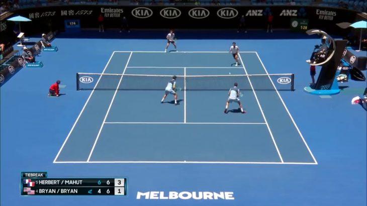 tennis doubles volley 7 テニスダブルス試合でのボレー特集7