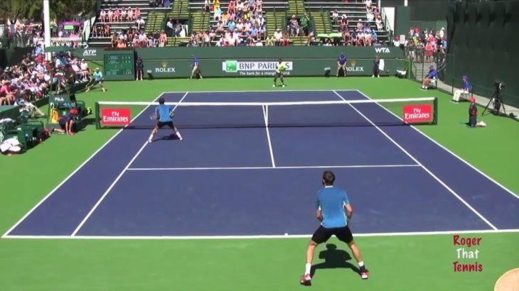tennis doubles volley 8 テニスダブルス試合でのボレー特集8