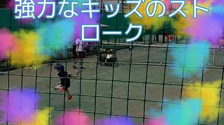 【キッズテニス・ジュニアテニス】錦織圭選手もビックリ!針の穴をも通すショット!