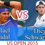 ラファエル・ナダル vs ディエゴ・シュワルツマン || 2015年全米オープン