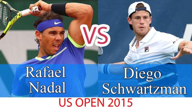 ラファエル・ナダル vs ディエゴ・シュワルツマン    2015年全米オープン