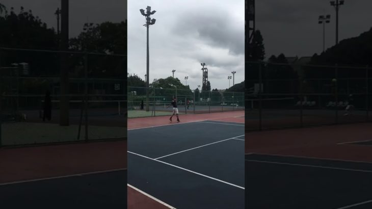 One handed Backhand Return  Tennis テニス 網球 网球 🎾