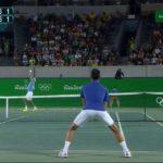 Djokovic (ジョコビッチ) VS Del Potro Rio 2016