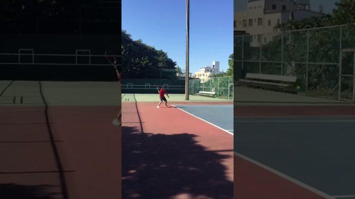 Forehand Slice Return    Tennis テニス 網球 网球 🎾