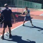 Forehand hit Slow Motion    Tennis テニス 網球 网球 🎾