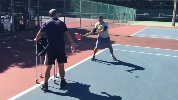 Forehand hit Slow Motion    Tennis テニス 網球 网球 🎾