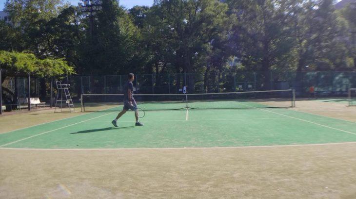 テニス ベテランJOPランキング1位とボレスト② tennis ranking No.1 volley stroke