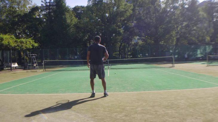 テニス ベテランJOPランキング1位とボレスト① tennis ranking No.1 volley stroke