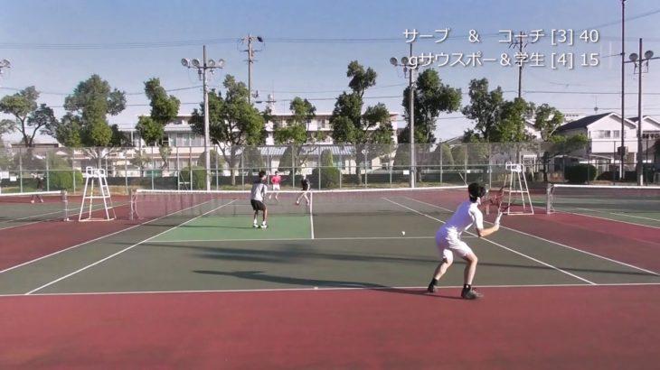 【MSK】サーブとストロークで力押し part2~Tennis Practice Game~【TENNIS・テニス】