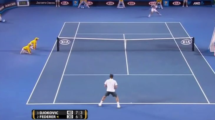 Novak Djokovic Play 9 ジョコビッチ特集9
