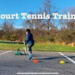 Off court training using Tennis practice equipment Picotino / テニス練習器具 ピコチーノを使ったオフコートトレーニング