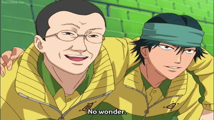 テニスの王子様 全国大会篇 Semifinal 2   ふじ vs しらいし    Fuji vs Shiraishi    Prince of Tennis OVA Semifinal