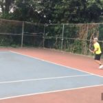 Serve – Forehand – Two Handed Backhand – Slice   Slow Motion   Tennis 網球 テニス  网球