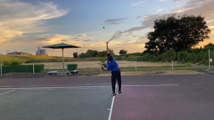 Serve Practice:Tennis Vlog4~大学生テニスプレーヤーの日常~