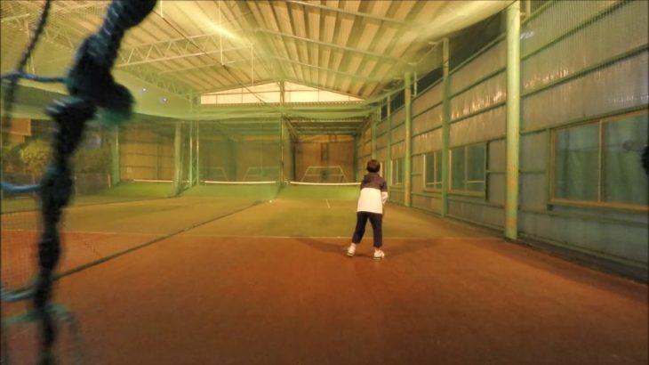#TENNIS  #50's #Woman Practice . 20201104-3 #テニス #practice #boonee2 #backhand #バックハンド