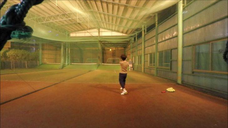 #TENNIS  #50's #Woman Practice . 20201104-5 #テニス #practice #boonee2 #backhand #バックハンド