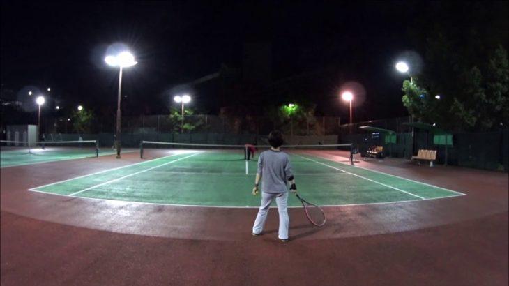 #TENNIS  #50's #Woman Practice . 20201115-3 #テニス #practice #boonee2 #ラリー #tennisrally #courtlevel
