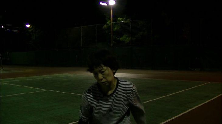 #TENNIS  #50's #Woman Practice . 20201115-4-2 #テニス #practice #boonee2 #サーブ #serve #courtlevel