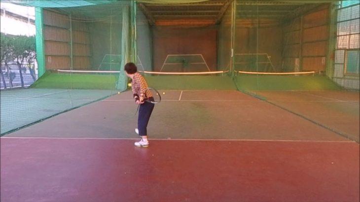#TENNIS  #50's #Woman #Practice . 20201123 #テニス #練習 #boonee2#フォアハンド #バックハンド #オート#forehando #backhand
