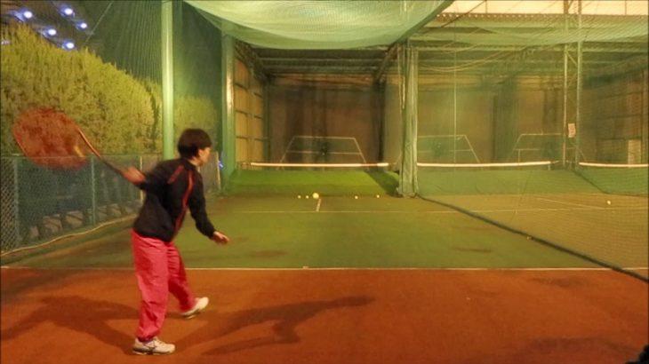 #TENNIS  #50's #Woman #Practice . 20201128 #テニス #練習 #boonee2 #フォアハンド #オート #forehand #天白グリーンテニスクラブ