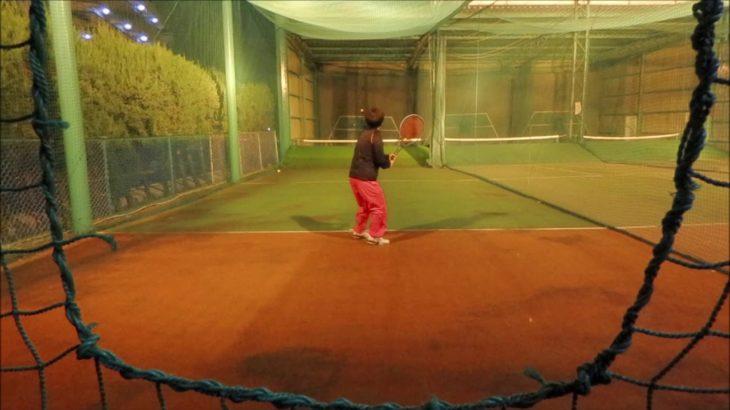 #TENNIS  #50's #Woman #Practice 20201128-3 #テニス #練習 #boonee2 #バックハンド フォアハンド #オート #backhand #forehand