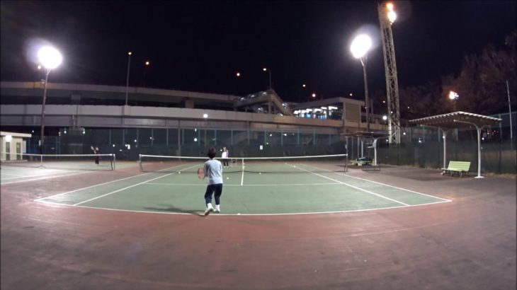 #TENNIS  #50's #Woman #Practice 20201129 #テニス #練習 #boonee2 #バックハンド #コート #backhand #court #lesson