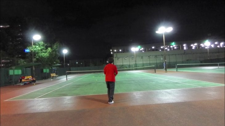#TENNIS #practice #boonee2 #vlog 【49's TENNIS】 <フォアハンド>20201115 inspired by#フェデラー #courtlevel #コート