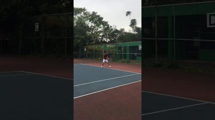 Serve – Backhand – Slice  Tennis テニス 網球 网球 🎾