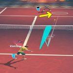 テニスクラッシュボレーで相手を翻弄する【Tennis Clash】