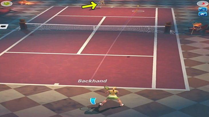 テニスクラッシュ相手の動きをみて攻略初心者にはみてほしい【Tennis Clash】