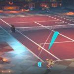 テニスクラッシュ相手のコースに素晴らしいレシーブが決まった【Tennis Clash】